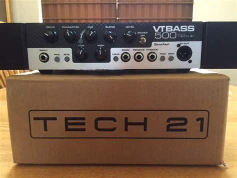 Vt Bass Rack by Sold Tech 21 Vt500 W Rackmount Ears Talkbass