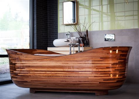 seattle woodworking shop produces finely crafted tubs