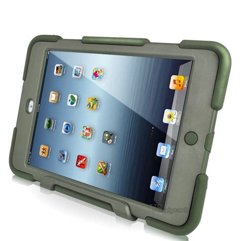 Rugged Mini Cases by Armor Rugged Rubberized Kickstand High Impact