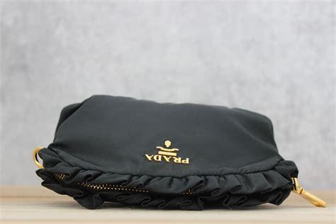 Prade Ruffle Bag prada ruffle cosmetic bag
