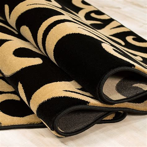 black and yellow rug allstar rugs black yellow area rug reviews wayfair ca