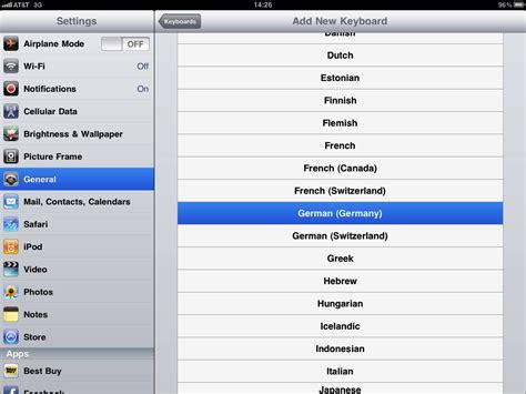yahoo layout change ipad how to change ipad keyboard layout