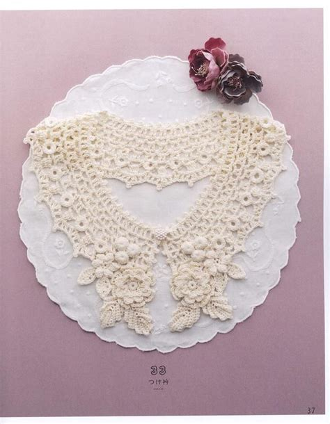 pattern crochet lace collar 119 best images about crochet lace collars free pattern on