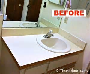 Bathroom Vanity Makeover Ideas super easy concrete overlay vanity makeover bathroom ideas concrete