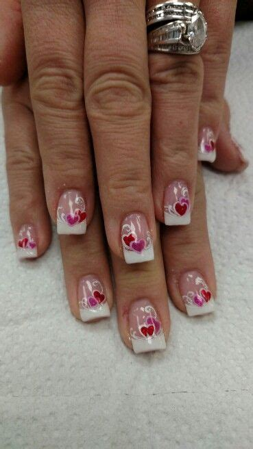 ideas  valentine nails  pinterest