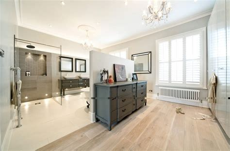 dressing room and bathroom design family home north london master dressing room and