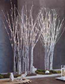 Northern Lights Sb Lighted Birch Tree Forest Nova68 Modern Design