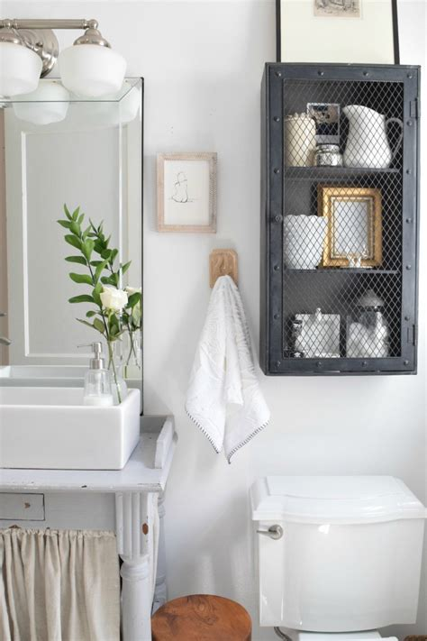 storage ideas for tiny bathrooms a small bathroom cabinet for your small bathroom