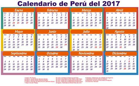 Calendario 2016 Peru Calendario 2017 Peru Feriados Newspictures Xyz