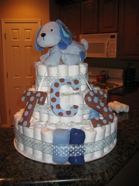 How To Make A Cake From Diapers For Baby Shower by How To Make A Cake Miraculously My Own