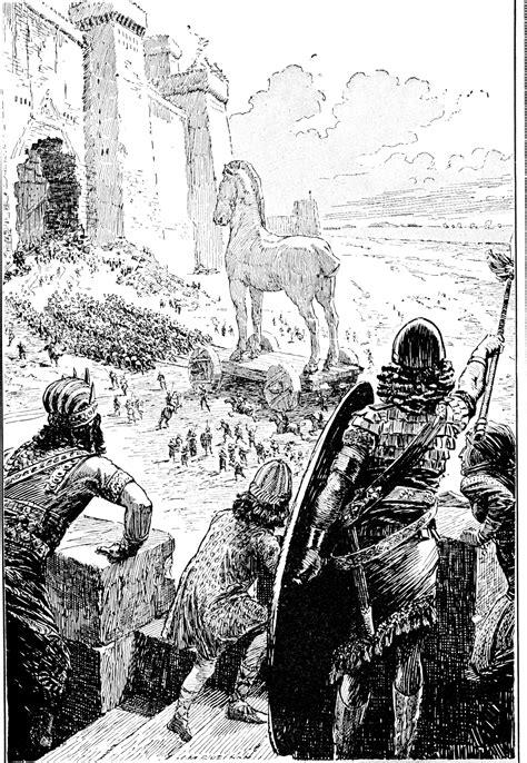 trojan horse clipart