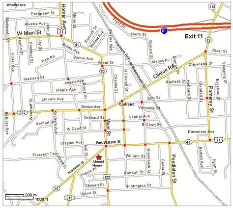 map of streets map deko 2015
