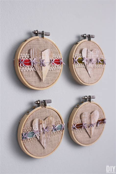 Walmart Home Decor Fabric by Embroidery Hoop Valentine Art 25 Sweet Valentine S Day Ideas