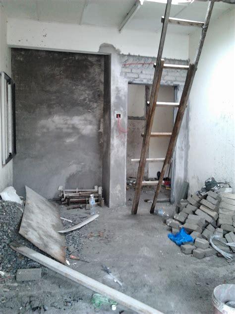 alslam aalykm ubahsuai rumah tambah dapur  tembok batu