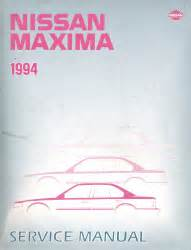 automotive service manuals 1994 nissan maxima engine control 1994 nissan maxima factory service repair shop manual
