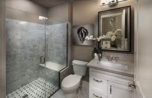 traditional 3 4 bathroom with high ceiling amp flat panel