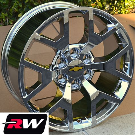 factory 20 inch gmc wheels gmc wheels chevy silverado rims 1500 chrome 20