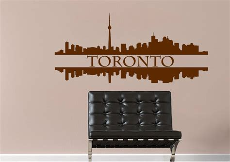 wall stickers toronto toronto reflections architecture wall stickers adhesive wall sticker