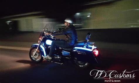 light up motorcycle light up motorcycle paint td customs lumilor lab