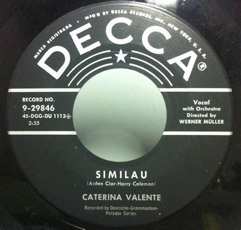caterina valente i love you caterina valente caterina valente singers records lps