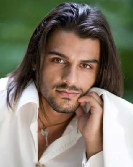male models with long straight hair indian male models with long hair below looks best