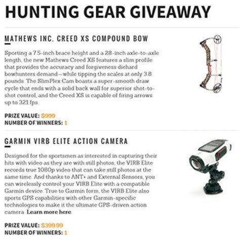 Hunting Gear Giveaways - win hunting gear granny s giveaways