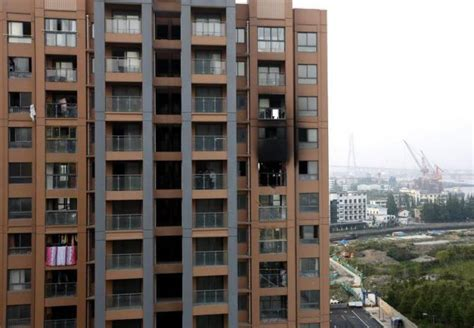 No 13th Floor In Buildings by Two Firefighters Are Blown Out 13th Floor Balcony In