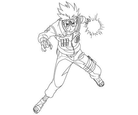 naruto coloring pages kakashi kakashi hatake 11 coloring crafty teenager