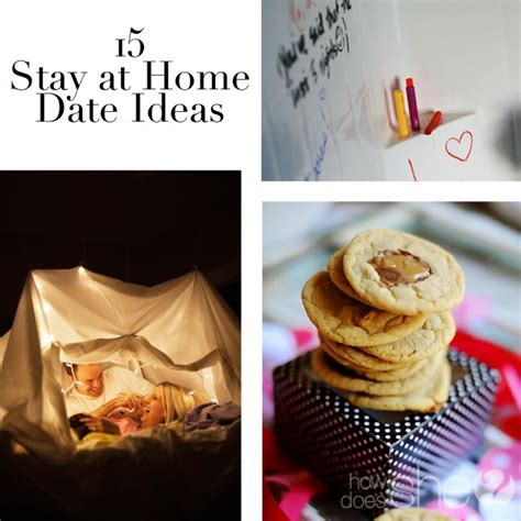 15 stay at home date ideas how does she