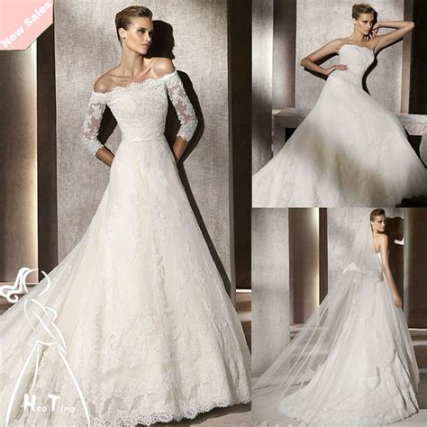 long sleeves lace bridal dresses ideas designers outfits