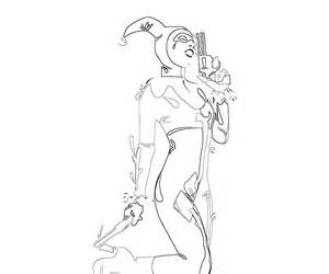 harley quinn coloring pages free batman harley quinn coloring pages