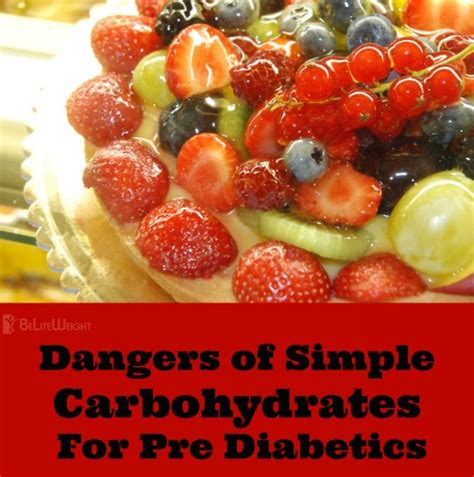 carbohydrates yams dangers of simple carbohydrates for pre diabetics