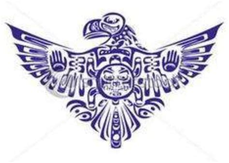 native american cherokee tribal tattoos the thunderbird in culture foretold of victory