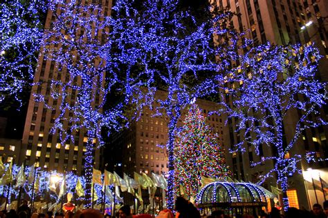holiday lights in new york doo dah christmas in new york