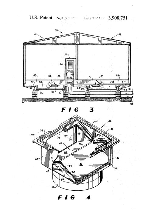 patent us3908751 duct system for mobile home