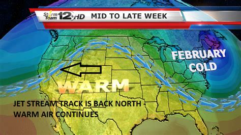 a weather pattern you can expect is ross millie s blog weird february so far active