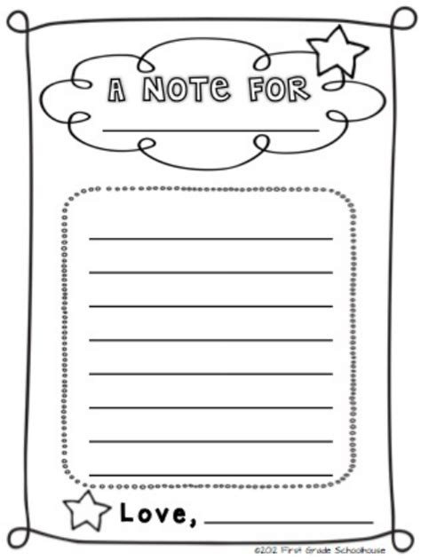Parent Letter Template Back To School Grade Schoolhouse Back To School