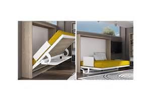 armoire lit escamotable horizontale bureau rabatable