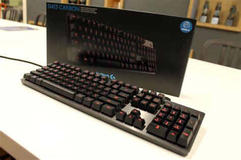 Keyboard Logitech G413 clixto7 impressions of the logitech g413 a mechanical keyboard 100