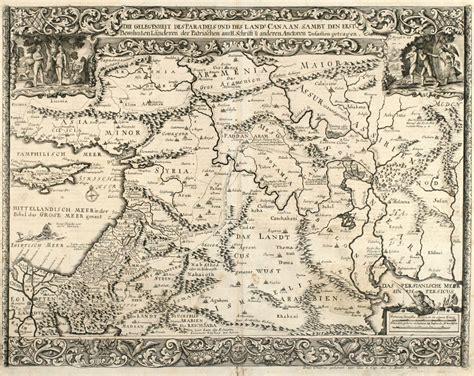 middle east map cyprus die gelegenheit des paradeis und des landes canaan sambt