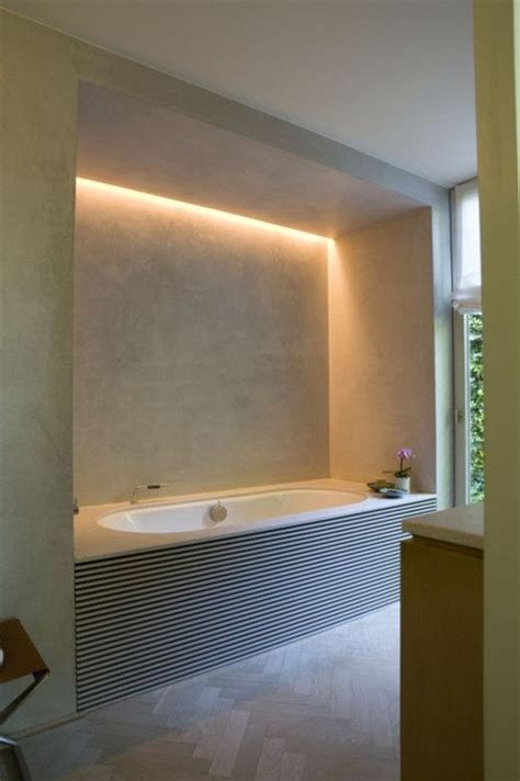 Led Lighting For Bathrooms Led Lighting By The Tub Bathroom Ideas
