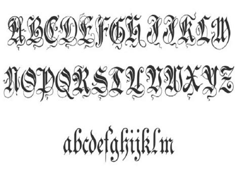 tattoo cursive fonts stylish font cursive inofashionstyle