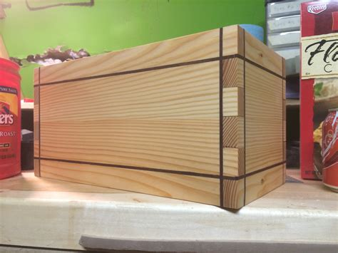 how to build a wood box youtube