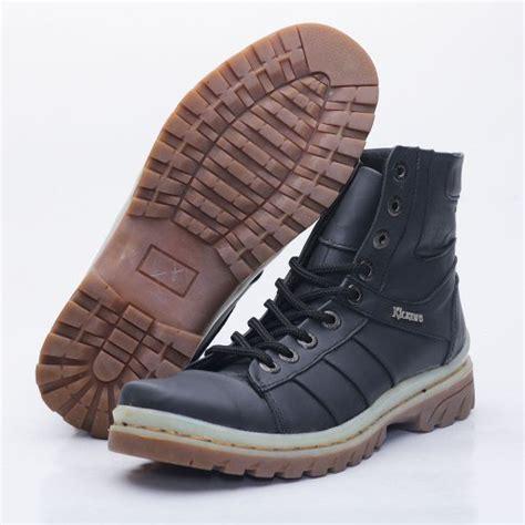 Daftar Sepatu Boot Karet Murah jual sepatu boot pria kulit asli boots casual tinggi boot touring model kickers 0606ht murah