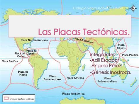 Foto De Las Placas Tectonicas   las placas tectonicas
