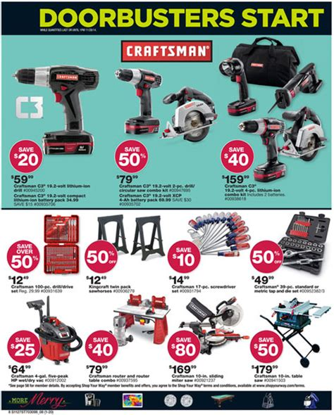black friday woodworking tools image gallery sears craftsman