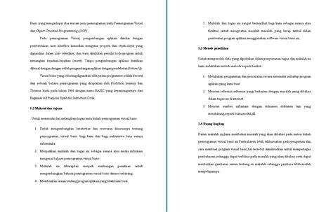 makalah visual basic 6 0 contoh makalah kita