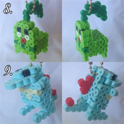 3d perler bead creations 3ds and 3d on