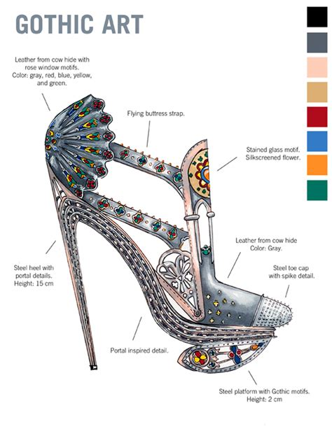 Marilyn Denis 10 Days Of Giveaways 2013 - exposed a walk through art history via 10 stunning pairs of high heels le chateau blog