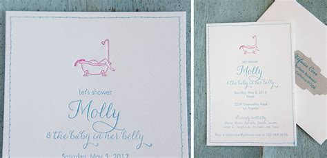 Sims 3 Baby Shower by Baby Shower Invitation Molly Sims 3 Tiny Pine Press